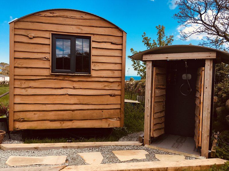 Willowtree Glamping Mournes (Shepherd Hut), location de vacances à Kilkeel
