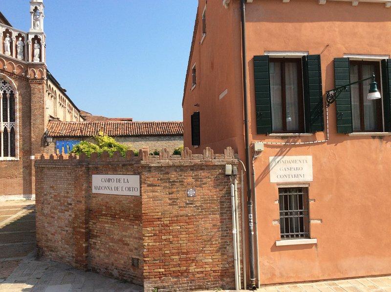 The windows of Casa Letizia