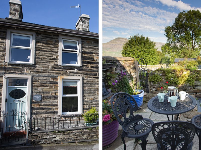 Moelwyn View Cottage, Llan Ffestiniog, vacation rental in Gellilydan