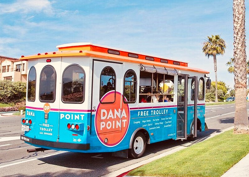 Cruise the Coast with Free Beach Trolley from Dana Point to San Clemente and Laguna Beach