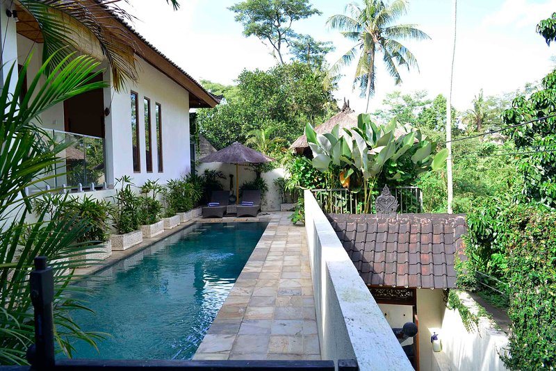 Villa Indah - Magical valley views and privacy, holiday rental in Ubud