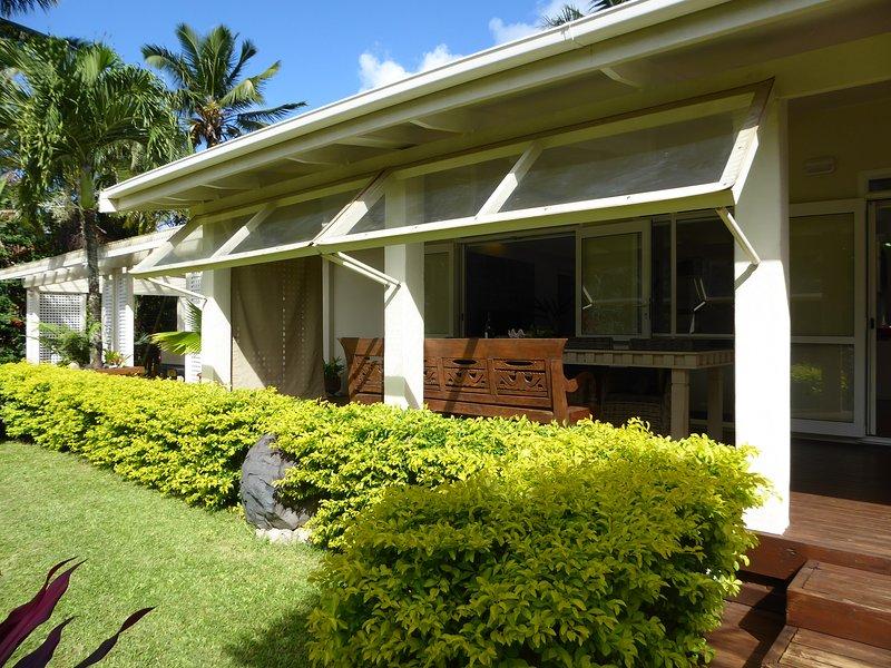 Rarotonga Hideaway - Great Value, Modern House on Large Grounds & So Private, casa vacanza a Aroa Beach