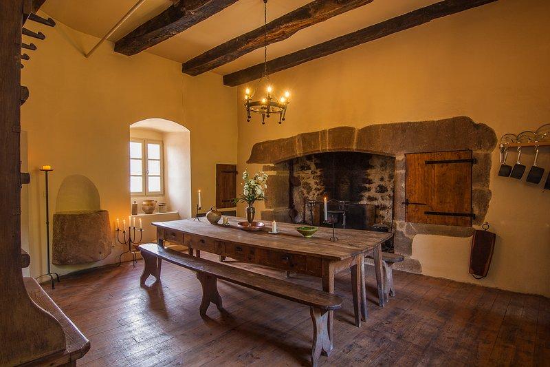 Commanderie de Rulhe le Haut (Aveyron) - Gîte médiéval *****, holiday rental in Rignac