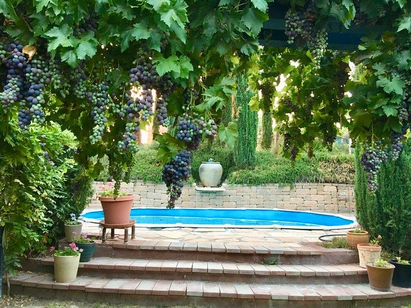 SILVERADO PLACE - Wine Country Garden Retreat, holiday rental in Creston