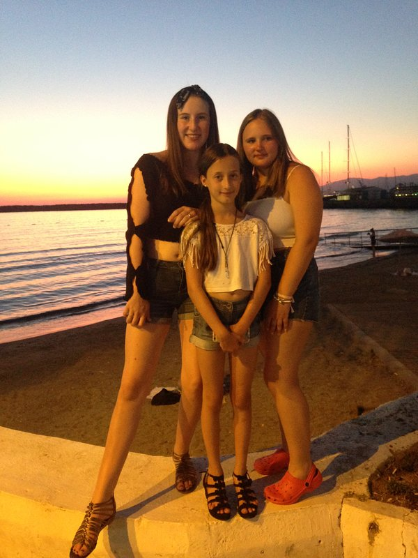 In Kusadasi for the evening, dinner shopping and horse drawn carriage ride