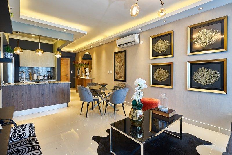 LDM 3E · Luxury apart 1BR w/jacuzzi, city center SDQRentals, location de vacances à Mata Gorda