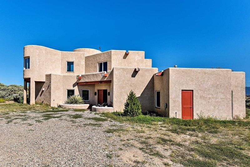 Dit huis biedt de perfecte hoeveelheid privacy en een prachtig uitzicht over de stad!