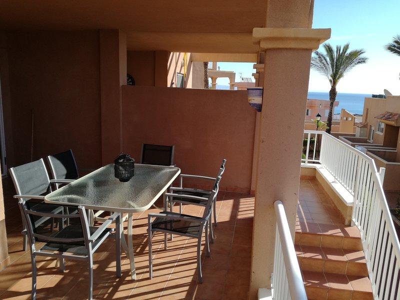 Mooi vakantieappartement op wandelafstand van de zee - Marina Golf, holiday rental in Mojacar Playa