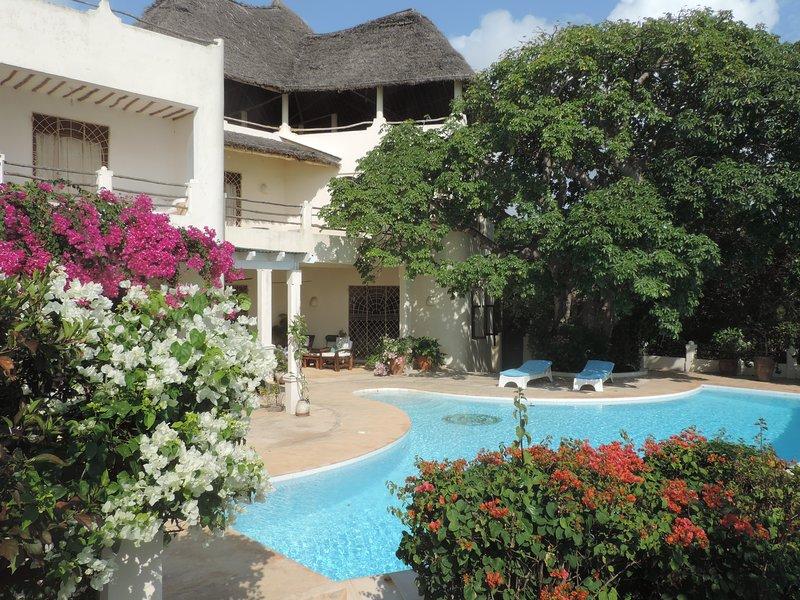 Stunning oceanfront property, location de vacances à Kilifi