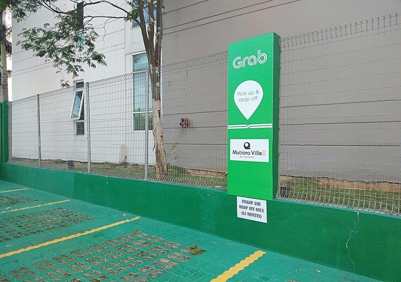 Point d'accès GrabCar