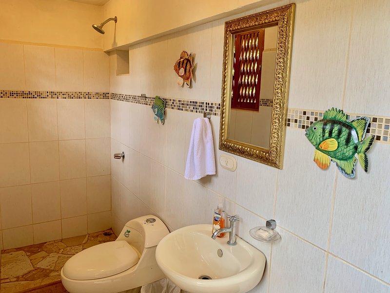 banheiro da piscina