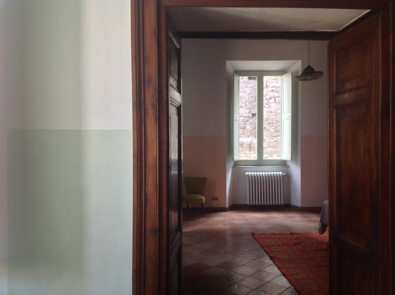 Double room 40 sq m, with sitting area and double panoramic view, bright and warm.