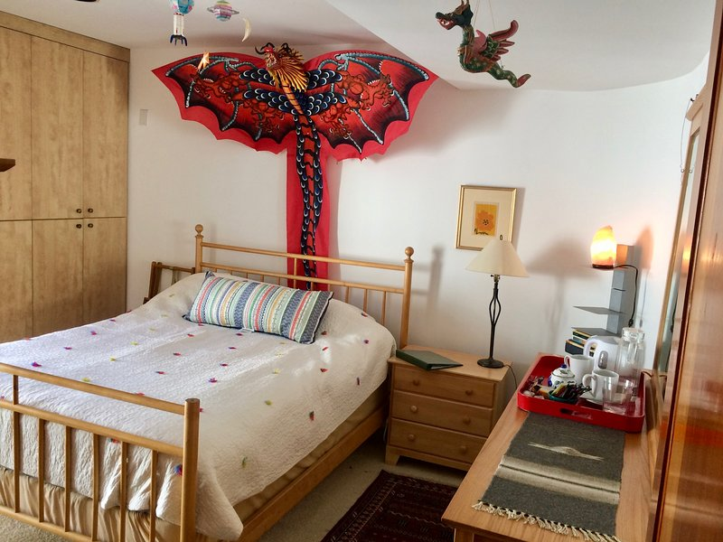 Lovely, comfortable room with attached full bath and little sit-out.