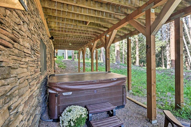 Ingenting slår ett blöt i badtunnan efter en lång dag i Breckenridge
