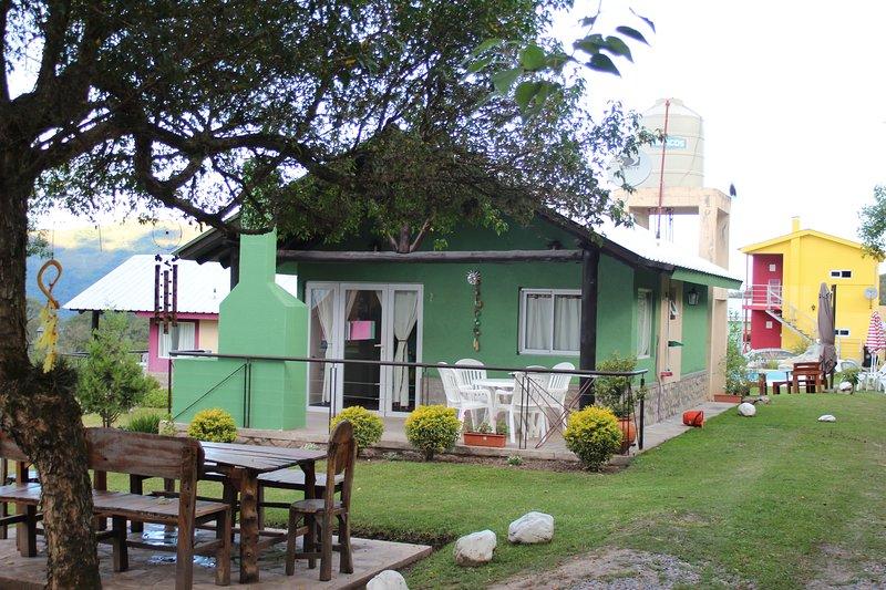 Wara Kusi - Casitas de Campo 23, holiday rental in El Bordo
