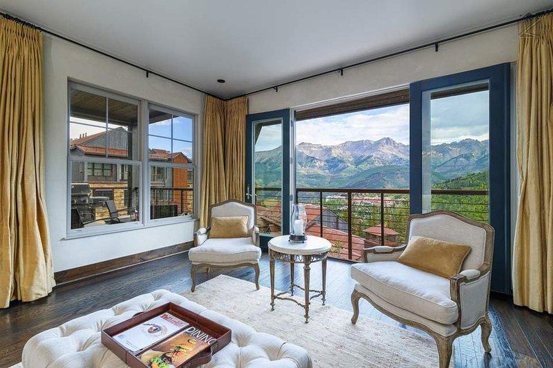 Las casas de Cassidy Ridge tienen algunas de las mejores vistas de Mountain Village.