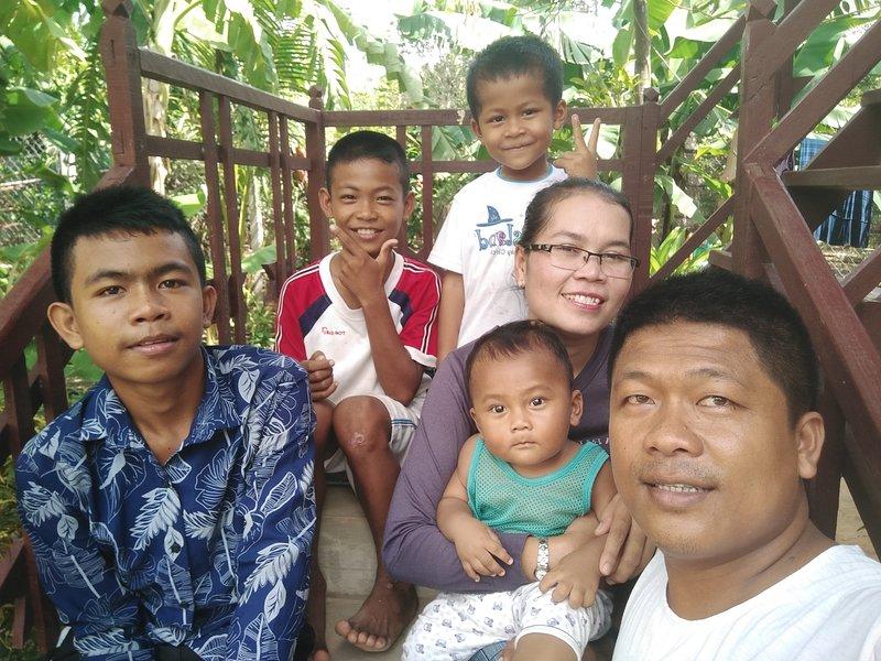 Bitte begrüßen Sie zu Gastfamilie in Siem Reao # Yanick Angkor Cottage