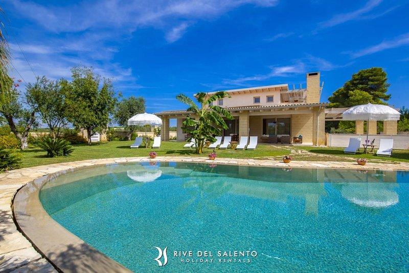 Appartamento Deluxe in Villa Reginella a Lecce, Ferienwohnung in Arnesano