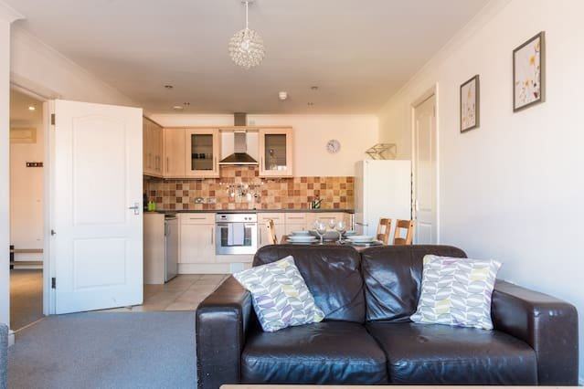 Homely, Spacious 2 Bed Apartment, Central Old Town, holiday rental in Swindon