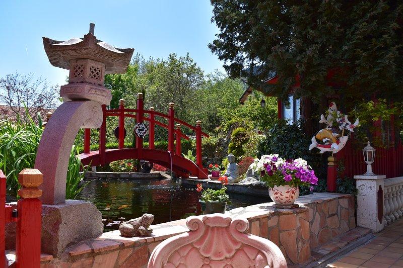 Gite Au printemps japonais, casa vacanza a Laffrey