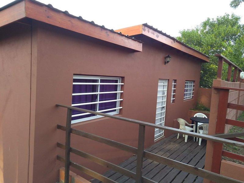 casa en mar azul para 6 pax 2 cdas mar$5500, vacation rental in Ostende