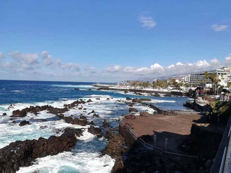 the small port of El Cotillo  5 minutes by car