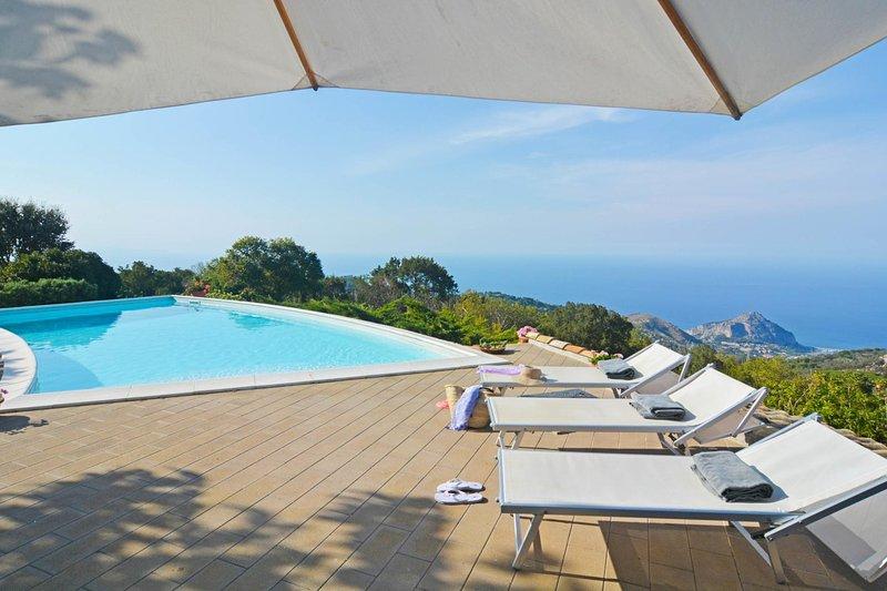 Gibilmanna Villa Sleeps 8 with Pool and WiFi - 5621491, vacation rental in Isnello