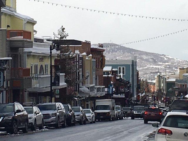 Calle principal histórica