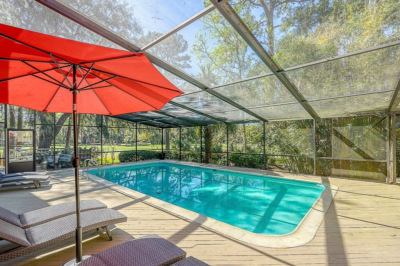 SEA PINES, RECENTLY UPDATED, PRIVATE POOL, GAME ROOM FOR ...