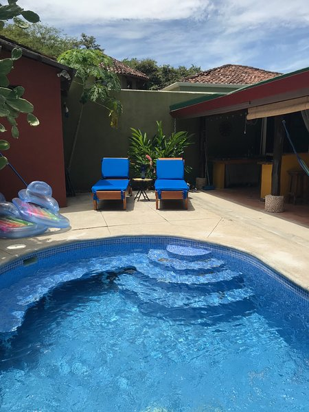 Villa Las Olas: 2 bed 2 bath, outdoor kitchen pool, casa vacanza a Playa Potrero