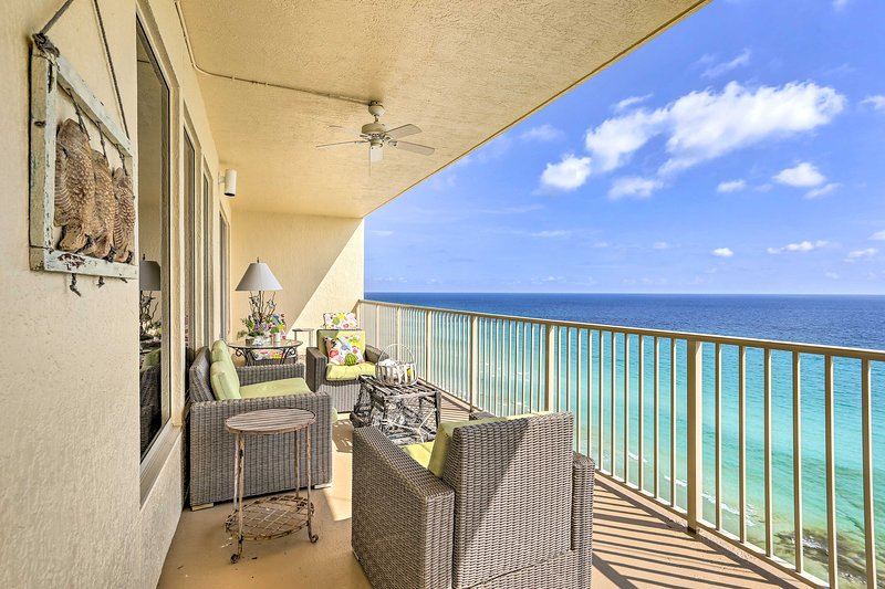 Capture the essence of the coast at this beachfront vacation rental!