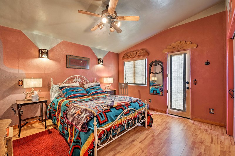 Heads of the household - claim this gorgeous master bedroom!