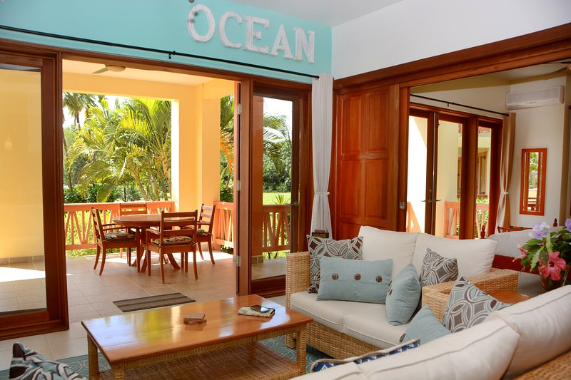 "Villas at Cocoplum - #311, 2 Bedroom Apartment, ""Permit"", vacation rental in Seine Bight Village"