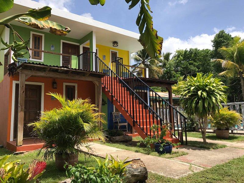 Tinglar Villa at Del Mar Eco Lodging, alquiler vacacional en Luquillo