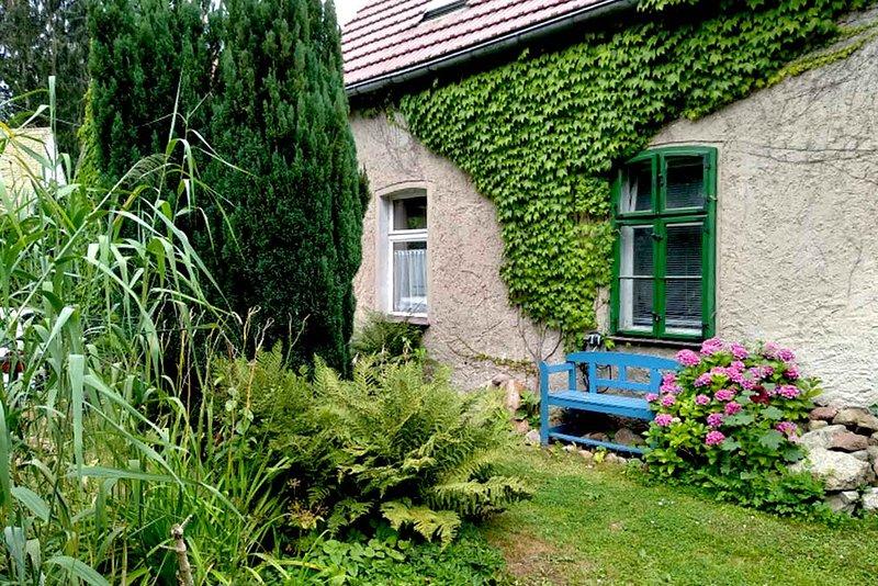 Vista frontal - Casa de vacaciones Hachemühle - Dübener Heide