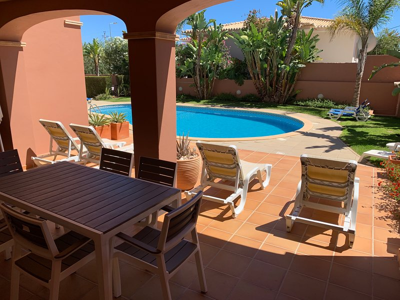Large Sunny Terrace With 4 Sunbeds And Direct Access To The Pool.