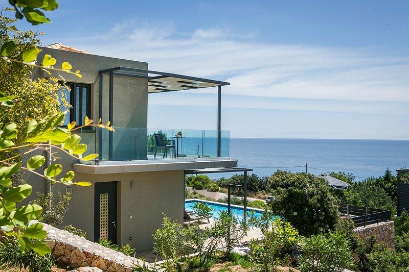 Villa Blue Sea, holiday rental in Skala