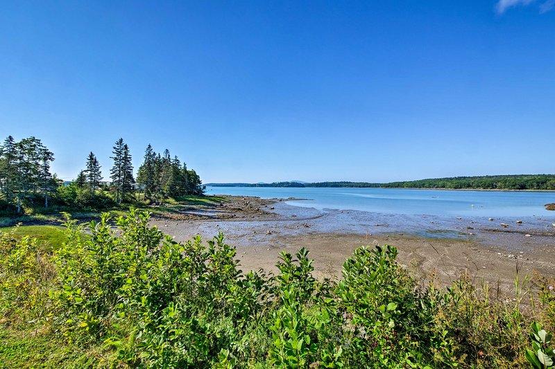¡El Parque Nacional de la Península Schoodic de Acadia está a solo 20 km!