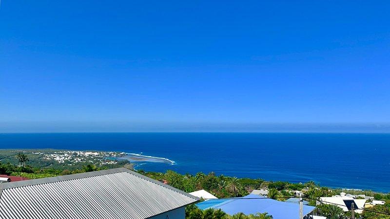 **Ocean View**, Meublé de tourisme, location de vacances à Les Avirons