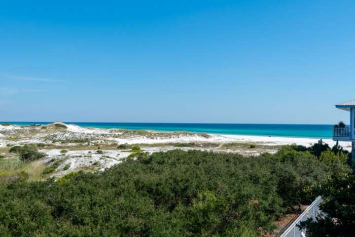 Breathtaking views of the dunes and the gulf!