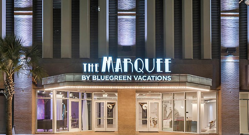 The Marquee (front exterior) - 144 Elk Place, New Orleans, Louisiana, 70112.