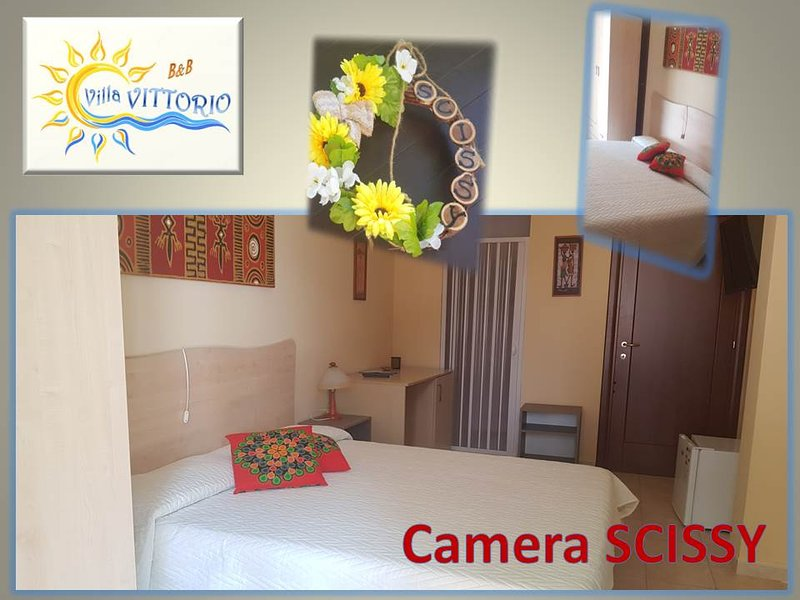 B&B Villa VITTORIO Camera SCISSANGY, vacation rental in Santa Maria al Bagno