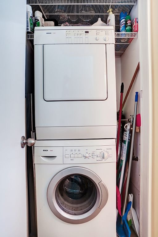 Washer / dryer for your use.