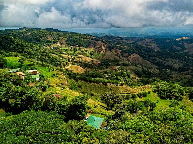 Una de las vistas más increíbles en el área de Monteverde.