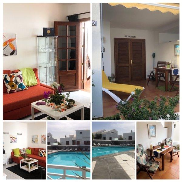 El Descansito, heerlijk appartement aan zee, zwembad, WiFi en Apple tv, alquiler vacacional en Playa Honda