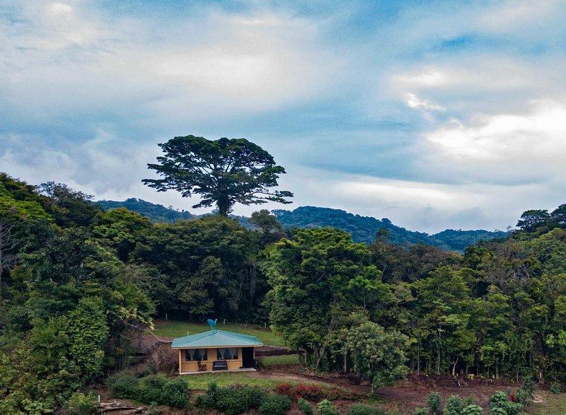 Fantastisk utsikt över viken i Nicoya och en del av Guanacaste-provinsen!