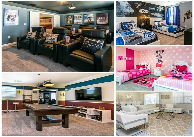 Large House with Indoor Cinema Room and Games Room