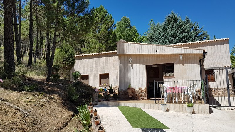 La casita del lagunazo. Parque natural del Río Mundo, holiday rental in Povedilla