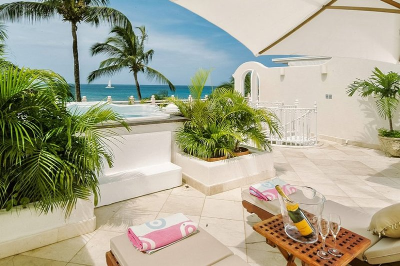Reeds Penthouse 13   Beach Front - Located in Magnificent Saint James with Hous, holiday rental in Weston
