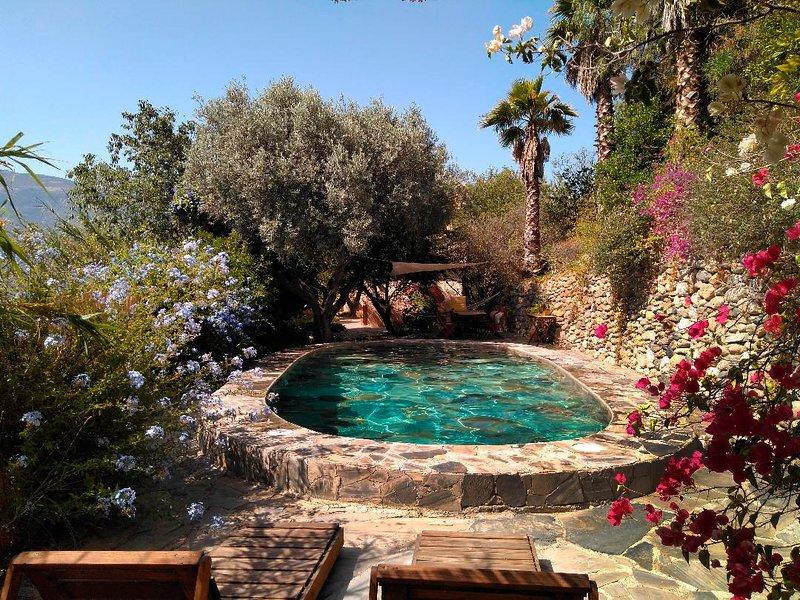 Casa Champasak, La Alpujarra Granada VTAR/GR/01097, holiday rental in Velez de Benaudalla